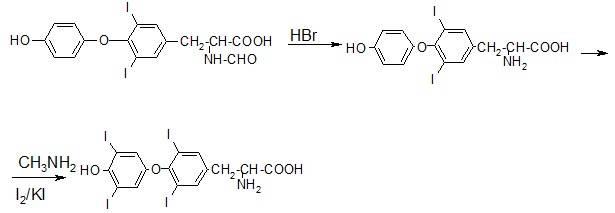 Получение левотироксина