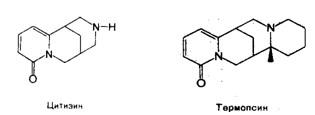 Цитизин, термопсин