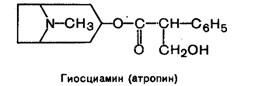 гиосциамин (атропин)