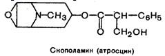 скополамин (атросцин)