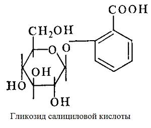 Гликозид салициловой кислоты