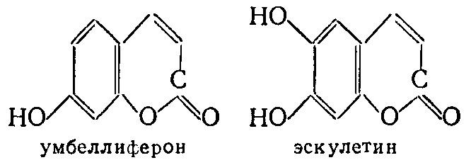 умбеллиферон, эскулетин