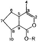 Иридоидные (горькие) гликозиды