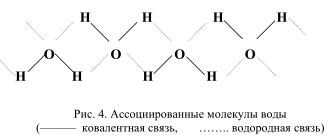ассоциированные молекулы воды