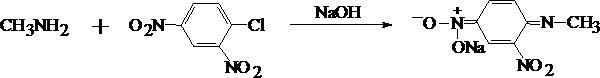 Реакция с 2, 4 – динитрохлорбензолом