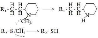 трансформация в радикалах R1 и R2