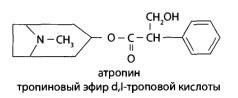 В медицинской практике применяют «Атропина сульфат» и различные препараты красавки