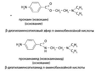 Производные п-аминобензойной кислоты